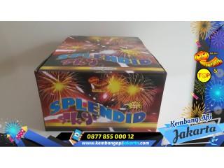 Kembang Api CAKE SPLENDID SKY 100SHOTS 1 INCH