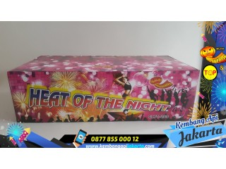 Kembang Api CAKE HEAT OF THE NIGHT 200SHOTS 0,8INCH