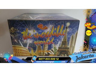 Kembang Api Cake LANTERN Incredible World 100s 1,2