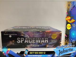 Kembang Api Cake Spacewar 280 Shots