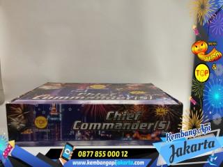 Kembang Api cake Chief Commander (s) 300 Shots 1 inch