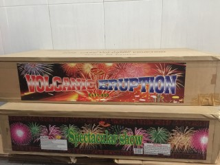 Kembang Api cake Vulcanic Eruption 800shots 0,8inch